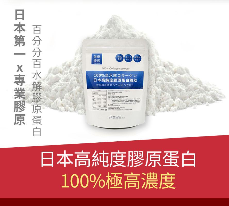 【買3送1】100%日本高純度膠原蛋白 超越市售膠原蛋白 小分子魚鱗水解胜肽高吸收率 100%極高濃度完全無添加 無色無味 4周有感8周看見不一樣 日本原廠進口立即購買