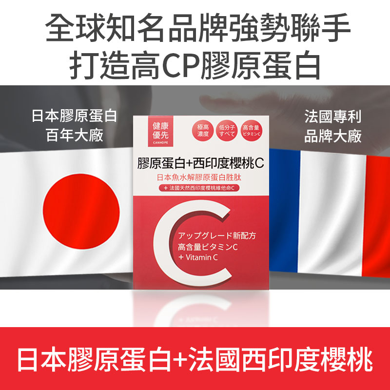 日本膠原蛋白雙效配方+法國西印度櫻桃C-全球知名品牌強勢聯手日本新田膠原蛋白+NATUREX法國西印度櫻桃天然萃取維他命C業界含量最高-免付費專線0800-800-924.psd