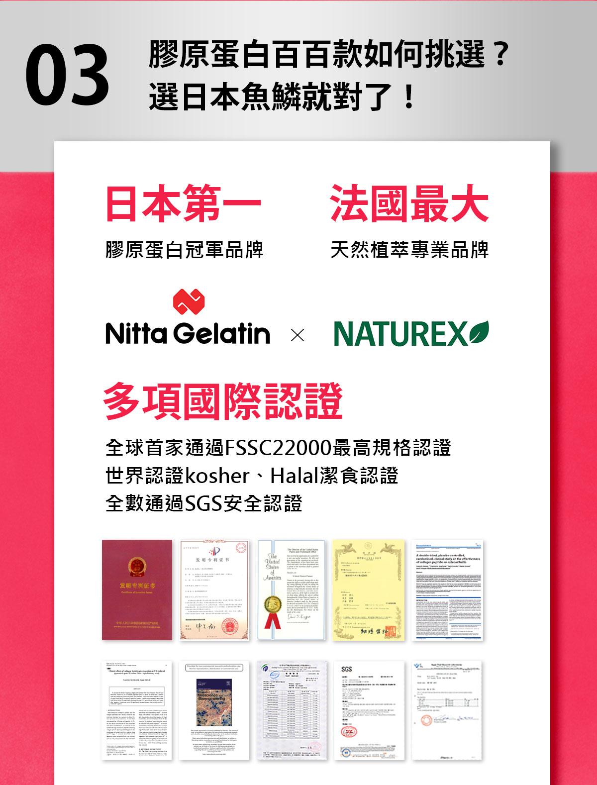 日本膠原蛋白+西印度櫻桃C-全球多張功效專利-0800-800-924