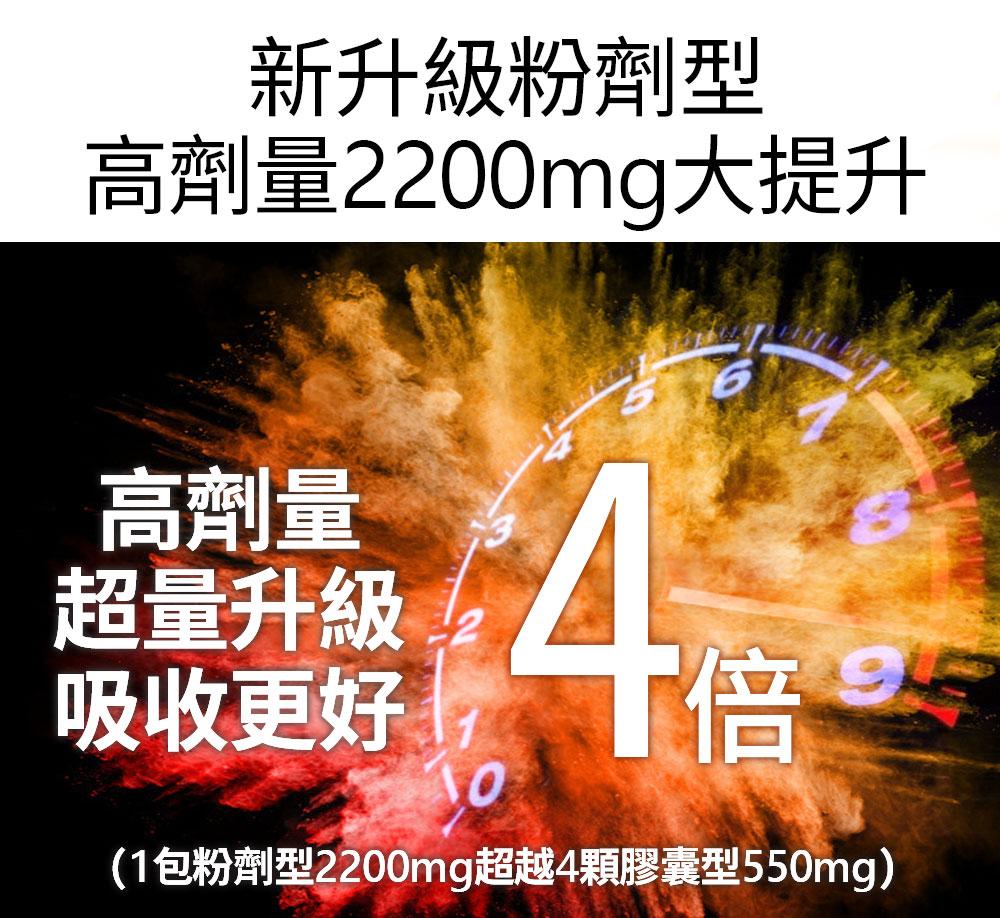 褐藻醣膠健康優先-新升級粉劑型2200mg大升級超越4倍膠囊型550mg